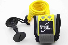GYROLL Wrist Leash - Yellow Coil / Cuff