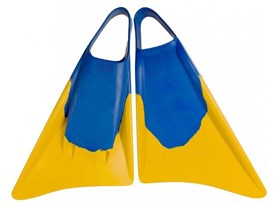 SURFDUST FINS - Blue/ Yellow