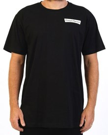 GRAND FLAVOUR Donut T Shirt - Black