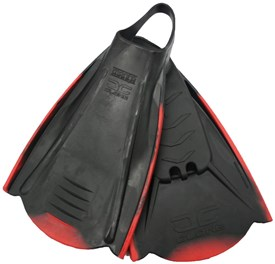 Manta Clone Fins - Black/ Red