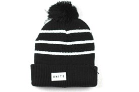 UNITE Fairmont Beanie - Black/ White