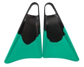 STEALTH S3 FINS - Black/ Emerald