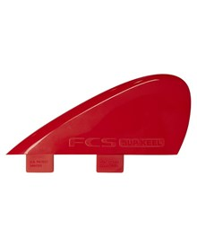 FCS SUP RIVER KEEL TRI FIN SET - RED
