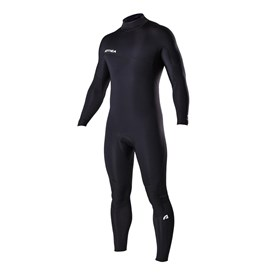 ATTICA Wetsuits - Vortec 3/2mm Steamer - Black/White Prints - 2017/18 Summer Range
