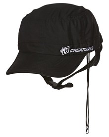 CREATURES OF LEISURE Surf Cap - Black