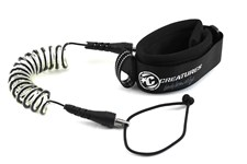 CREATURES OF LEISURE Ryan Hardy Model Bicep Leash - Black/ Clear