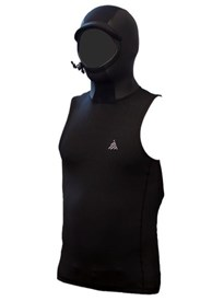 ZION WETSUITS Zen 2.5mm Hooded Vest - 2015 Winter
