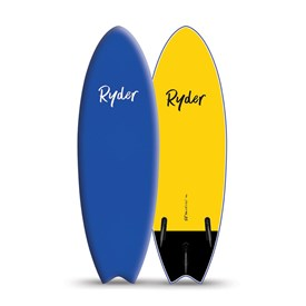 RYDER SOFT SURFBOARD - Fish Series 5'6 Thruster - 2017/18 Model