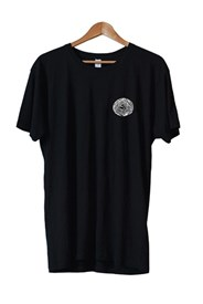 ZION WETSUITS Neg Spiral T Shirt - Black