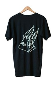 ZION WETSUITS Pyramid Scheme T Shirt - Black