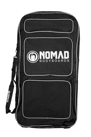 NOMAD TRANSIT DOUBLE BODYBOARD BAG - Black/ White
