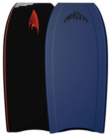 MANTA BODYBOARDS Black Thermo Flex Core (TFC) - 2016/17 Model
