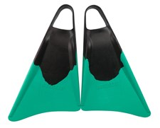 S3 STEALTH FINS - Black/ Emerald Green