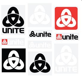 UNITE Clothing - Corporate Sticker Pack - Assorted