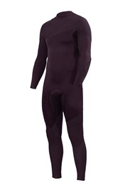 ZION WETSUITS Yeti 3/2mm Liquid S-Sealed Zipperless Steamer - Dark Plum - Winter 2018 Range