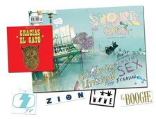 STOKE MACHINE MAG ISSUE #1 - Includes Viking 2 Dvd + Sticker packs