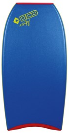QCD BODYBOARDS Vintage Polypro Core - 2014/15 Model