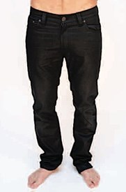 LUMINAIR CLOTHING Waxx Black Jeans