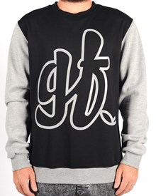 GRAND FLAVOUR Lazy Logo Crew Neck Jumper
