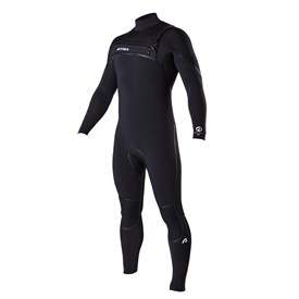 ATTICA Wetsuits - Alpha Liquid Sealed GBS 3/2mm Steamer - Black - 2016 Winter