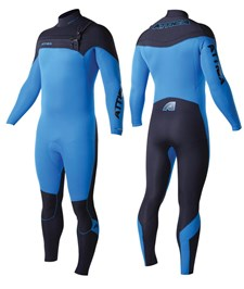 ATTICA WETSUITS OMEGA GBS 3/2mm STEAMER BLUE/ BLACK - 2014 Winter