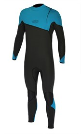 REEFLEX WETSUITS Moz Arctic 4/3mm GBS Zipperless Sealed Steamer - Blue/Graphite - 2017 Winter Range
