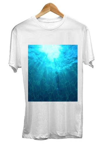 ZION WETSUITS Summer of Zion T Shirt - White