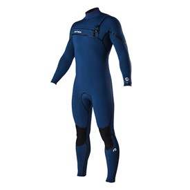 ATTICA Wetsuits - Alpha Liquid Sealed GBS 3/2mm Steamer - Iodine Blue - 2016 Winter Range