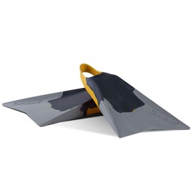 VULCAN V2 FINS - Dark Grey/ Spectra Yellow/ Light Grey