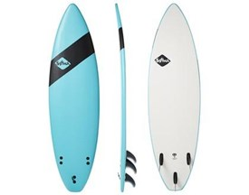 SOFTECH SOFT SURFBOARD Handshaped Shortboard Thruster - 6'0