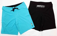 Turbo Bodyboards Stretch Boardshorts - Black