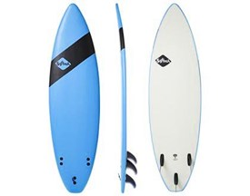 SOFTECH SOFT SURFBOARD Handshaped Shortboard Thruster - 6'6