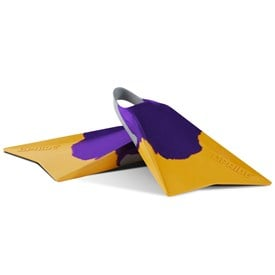 VULCAN V2 FINS - Purple/ Light Grey/ Spectra Yellow