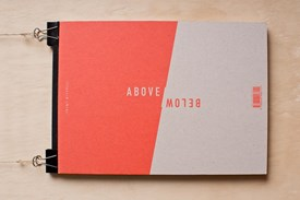 ABOVE / BELOW - Book by Trent Mitchell