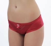 The Blonde Private Party Brief - Ruby Red