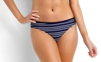 Isola by Megan Gale Hamptons Stripe Hipster Bikini Pant Swimwear