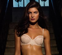 Pleasure State Black Label Couture Sicily Balconnet Bra (made to DD) - Ecru