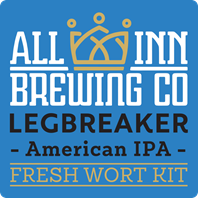 All In Legbreaker American Poca IPA Fresh Wort