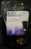 Still Spirits Black Sambuca Icon Top Up Liqueur Kit 240g