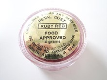 Ruby Red Petal Dust