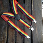 Suspenders - rainbow
