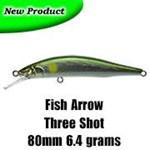 Fish Arrow Three Shot Minnow 80mm