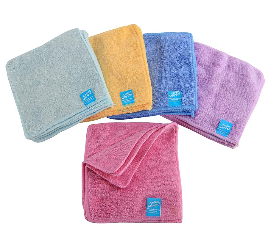 d2a803d13933c Cheeky Wipes - Reusable Baby Wipes Baby Blossom Modern Cloth Nappies