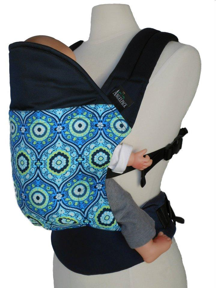 Angelpack Lx2 Soft Structured Baby Carrier Baby Blossom