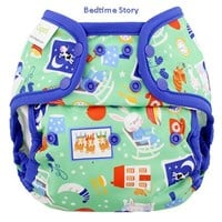 Blueberry Capri Nappy Covers - Snap