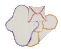 ImseVimse Organic Cotton Sanitary Pads - 3 Pack