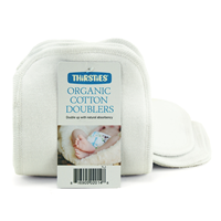 Thirsties Organic Cotton Doublers (3pk)