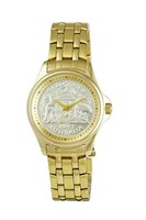 Coinwatch Lifestyle Collection Mens Gold Australian Florin with Gold bracelet