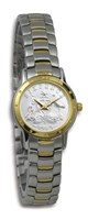 Coinwatch Contemporary Collection Womens 2-tone Australian Sixpence with 2-tone bracelet