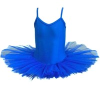 Girls Princess Line Tutu, (Budget Range), Royal Blue